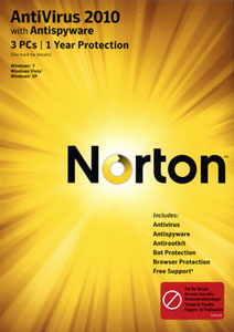 Norton Anti-virus 2010 cover