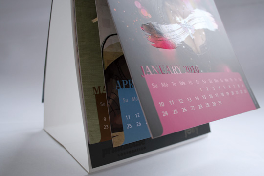 2010 illustration calendar