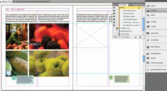 interactive frame resizing